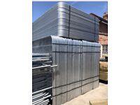 New heras fencing / site security / temporary fencing