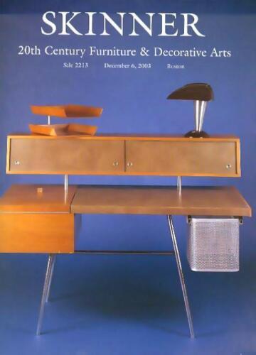 Skinner  20th C. Furniture  Deco Design Tiffany Daum Arts Auction Catalog 2003
