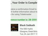 Black Sabbath standing tickets for sale