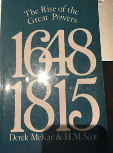 The Rise of the Great Powers 1648-1815