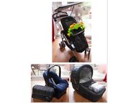 M&P MPX Travel System plus Play/Gym Mat toys