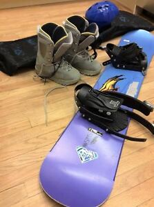 Snowboard Package for Sale