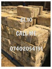 Reclaimed London Yellow Stock Bricks