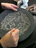 Decorate a Pottery Plate this Saturday March 25th!