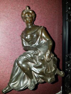 Zeldas Goddess Harp cast statue