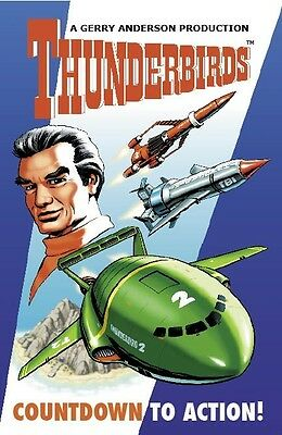 COUNTDOWN TO ACTION, OFFICIALLY LICENSED THUNDERBIRDS NOVEL BOOK, NEW CONDITION
