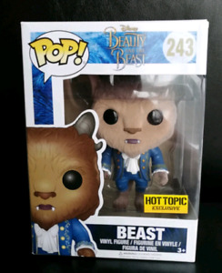 Beast from Beauty and the Breast Flocked Hot Topic Exclusive Fun