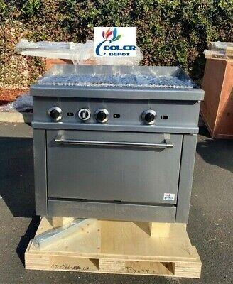 New 36 Broiler Top Oven Range Stove Commercial Kitchen Restaurant Nsf 138000btu