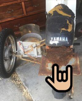 Old moto bike