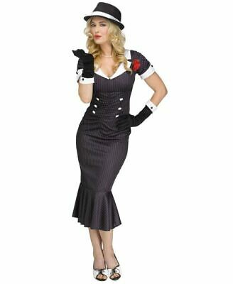 1920'S Gangster Gal - Adult Womens Gangster - Gangster Costume Woman