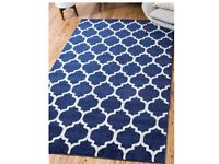 Large Trellis style rug BRAND NEW IN PACKAGING