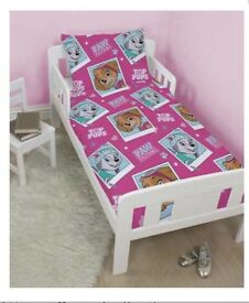 Brand New Paw Patrol Junior Bed Set