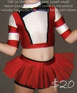 Girls Dance / Dress up Outfits, various sizes. Sold Separately Ballajura Swan Area Preview