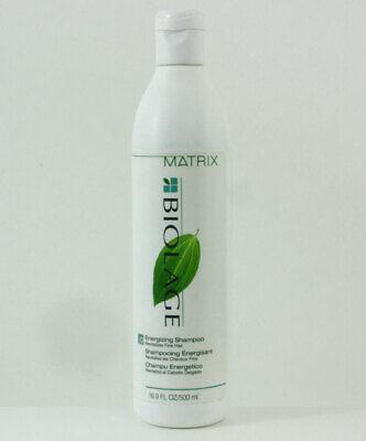 Matrix Biolage Energizing Shampoo 16.9 oz Revitalize Fine Thin Hair RARE -
