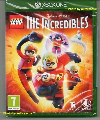 LEGO The Incredibles  'New & Sealed' *XBOX ONE (1)*