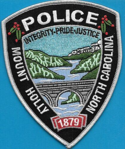 MOUNT HOLLY NORTH CAROLINA NC POLICE DEPT BRIDGE MPD HPD PD (FIRE) EMBLEM