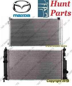 All Mazda AC compressor Condenser Radiator Support Fan Cooling Compresseur AC Condenseur Radiateur Support Ventilateur