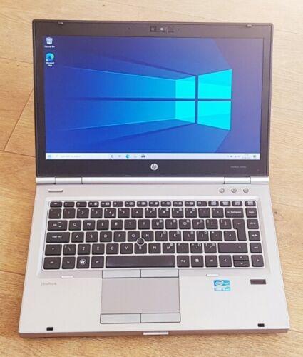"""Laptop Windows - HP EliteBook 8460p 14"""" Laptop,Intel Core I5-2520M,4GB RAM,250GB HDD,Windows10"""