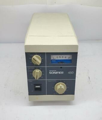 Branson Sonifier 450 Cell Disruptor Lysis For Parts