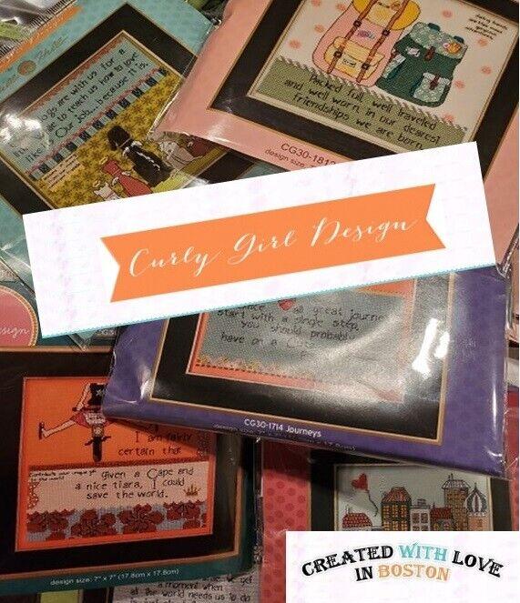 Curly Girl Designs - Everyday Series - Cross-stitch Kits - M