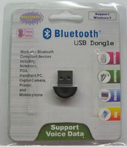 For Sell Mini USB 2.0 Bluetooth V2.0 EDR Dongle Wireless Adapter