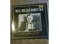 12 n vinyl Bix Beiderbecke *signed copy*
