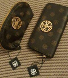 Make up bag and matching purse