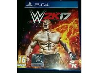 WWE 2K17 Game for PS4