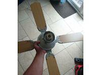 Ceiling fan/ light fitting