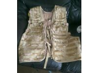 Camo airsoft tactical army vest