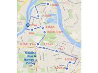 Seeking Friendly part time minibus driver for morning school run Barnes-Putney
