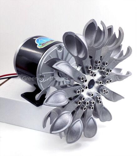 12V DC Pelton Water Wheel Micro Hydro Generator