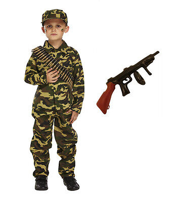 Kinder Jungen Kinder Armee Soldat Kostüm Party Uniform Militär - Militär Party Kostüm