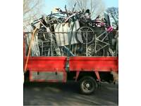 Free scrap metal collection rubbish removed