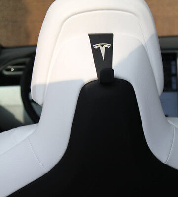 Will Not Fit Models - Tesla Model X - Coat Hooks PAIR (Will fit Model S with Performance Interior)
