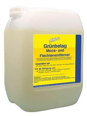 5L Grünbelagentferner Moos- und Flechtenentferner (1:9 Konzentrat)