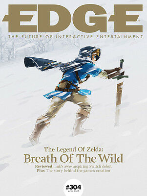 EDGE Magazine E304 April 2017 THE LEGEND OF ZELDA BREATH OF THE WILD Nintendo