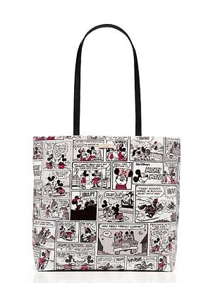 KATE SPADE Minnie Mouse ComicTote Bag Puse On-Line Exclusive PXRU6507