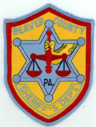 BEAVER COUNTY SHERIFF PENNSYLVANIA PA NEW PATCH POLICE