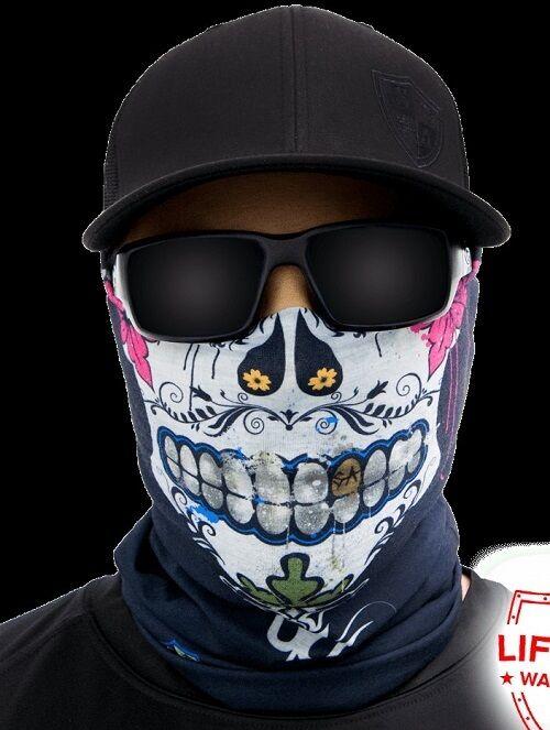 Salt Armour SA Mexico Face Shield Sun Mask Neck Gaiter Balaclava *USA*