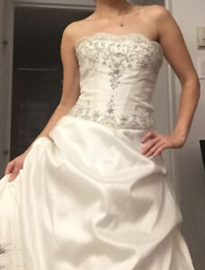 special price for a high end wedding dress!!!