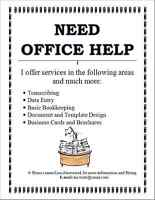 Office Services Available