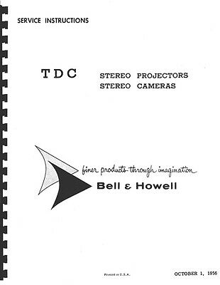 Instructions and guides TDC Stereo Projectors