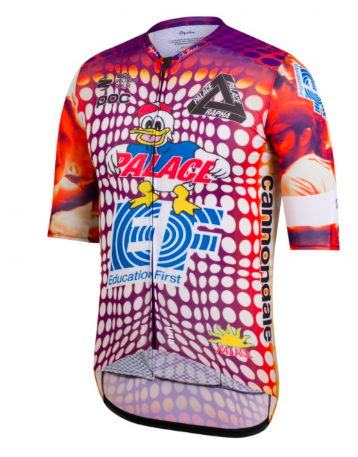 Rapha + Palace Limited Edition Women's EF Pro Team Aero Jersey Small (New with tags - 250 USD)