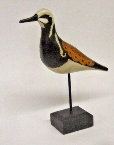 Ruddy Turnstone Shorebird Decoy By Bob Biddle