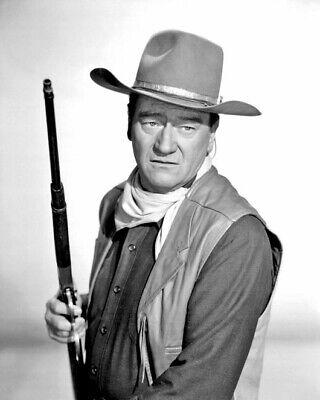 American Actor JOHN WAYNE Glossy 8x10 Photo Cowboy Print Poster
