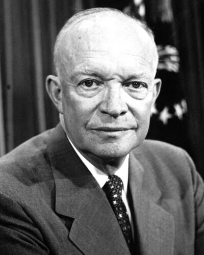 Former U.S. President DWIGHT D. EISENHOWER 8x10 Photo General Print Poster