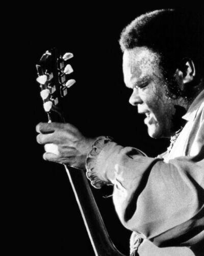 Blues Soul Singer FREDDIE KING 8x10 Photo Music Guitarist Print Glossy Poster
