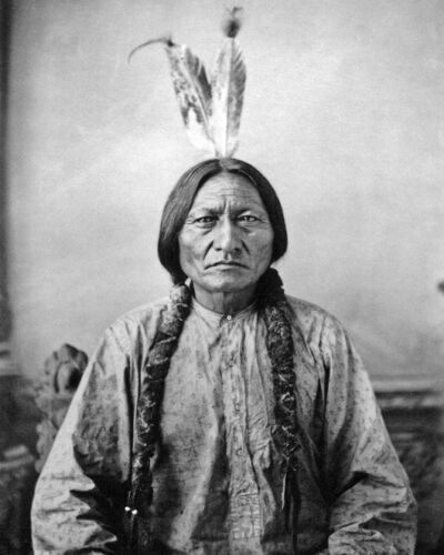Native American Indian CHIEF SITTING BULL 8x10 Photo Sioux Print Glossy Poster