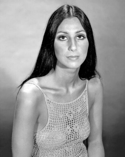 Pop Singer Actress CHER Glossy 8x10 Photo Musical Portrait Photograph Poster